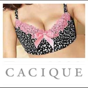 Cacique Intimates & Sleepwear - 🌷42 DD Cacique Heart Long Line Bustier 🌷